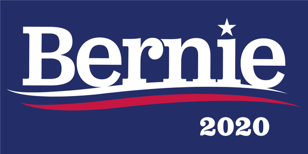 Bernie Sanders 2020 Official Bumper Sticker Made In USA