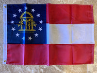 Georgia Flag Rough Tex ® 2'x3' 150D