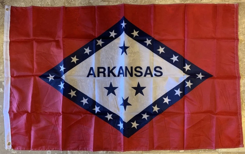 Arkansas Flag 3'X5' Rough Tex® 150D Nylon