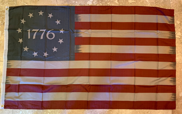 Betsy Ross 1776 Vintage Flag -3'x5' Rough Tex® 100D