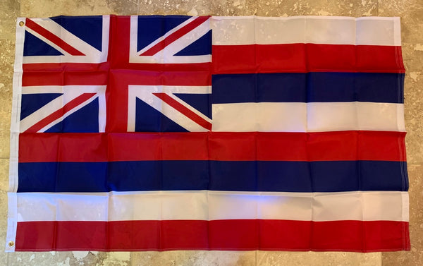 Hawaii  Flag Rough Tex ® 3'x5' 210D Flags