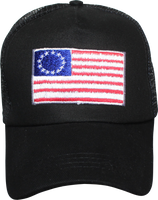 Cap - Betsy Ross Flag Patch Mesh