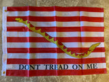 1st Navy Jack Don't Tread On Me Flag Rough Tex ® 2'x3' 150D