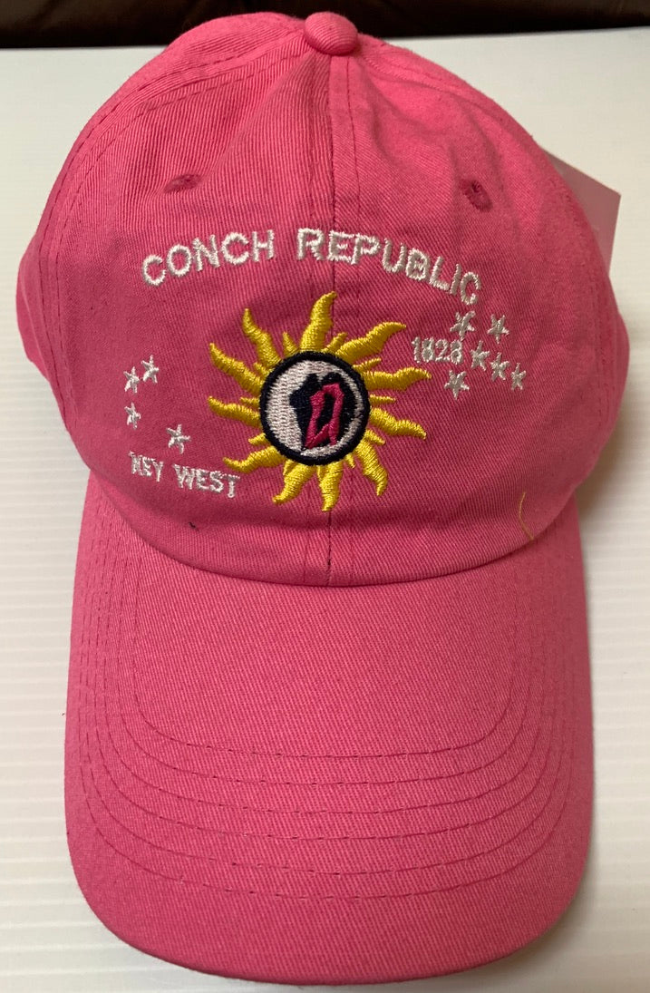 Conch Republic Hot Pink Washed - Cap