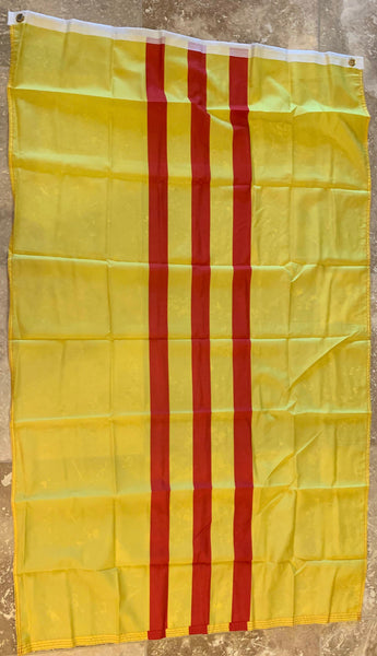 French Tonkin From 1890-1920 & South Vietnam 3'x5' 100D Flag Rough Tex ®