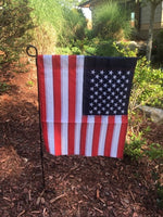 American Flag Garden Flag USA Embroidered Stars & Sewn Stripes Rough Tex ® American Brand