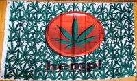 Hemp Leaf (Weed Marijuana) 3'x5' 100D Flag Rough Tex ® cannabis flags