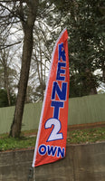 Rent To Own Swooper Flag