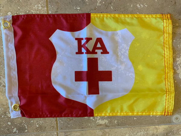 KAPPA ALPHA ORDER KA KAO SUPPLEMENTAL FLAG  12'X18' Rough Tex® 100D