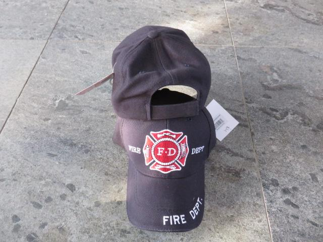 FIRE DEPARTMENT DARK BLUE CAP / HAT