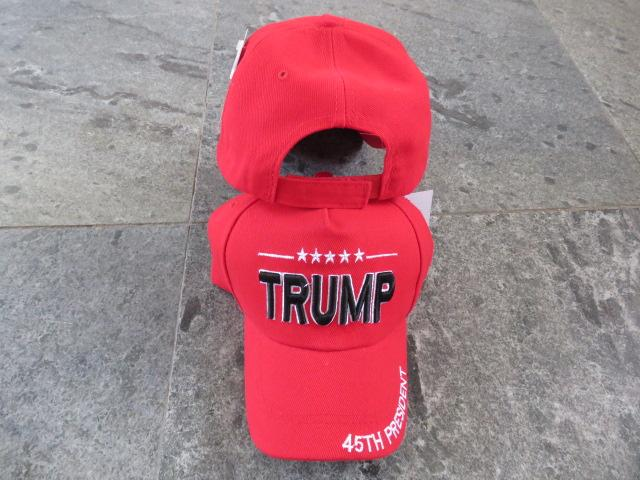 TRUMP 45TH PRESIDENT RED CAP