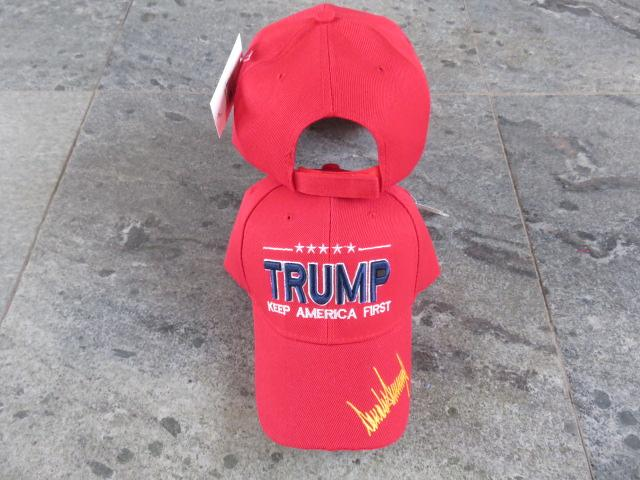 TRUMP KEEP AMERICA FIRST CAP RED