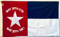 North Carolina Republic 3'X5' Cotton Flag