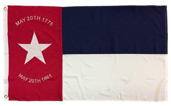 NC Republic 3'X5' Flag ROUGH TEX® 100D