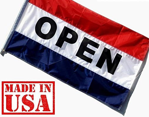 Open Flag-  3x5 68D Nylon 1440