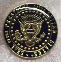 US Presidential Official Seal (President Of The US Seal) Pin