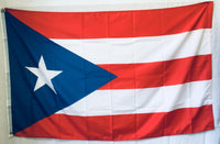 Flag Of Puerto Rico Dark Blue - 100D Rough Tex ® 3'X5'