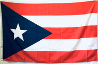 Flag Of Puerto Rico Medium Blue - 100D Rough Tex ® 3'X5'