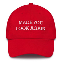 Made You Look Again Red - Cap