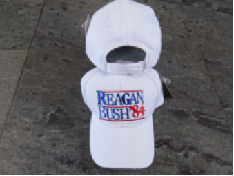 Regan Bush '84 White  - Cap