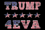 Trump 4EVA Double Sided 3'X5' Rough Tex® 100D