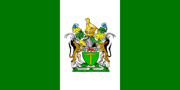 Rhodesia 3'X5' Flag ROUGH TEX® 100D