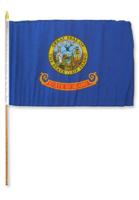 Idaho Stick Flag In Poly- 4''x6'' Rough Tex®