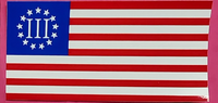 Betsy Ross 3 Percenter - Bumper Sticker
