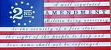 Betsy Ross 2nd Amendment A Well Regulated Militia  - Bumper Sticker