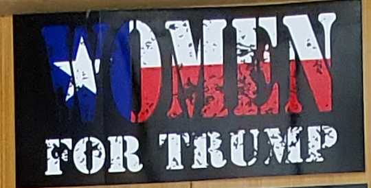 Women For Trump  - Bumper Sticker