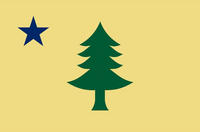 Maine 1900 3'X5' Flag Rough Tex® 100D