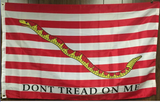 1st Revolutionary Navy Jack Double Sided Flag-3'x5' Rough Tex® 600D