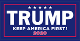 Trump Keep America First KAF 2020 - Bumper Sticker