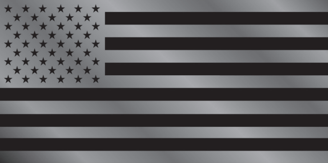 USA Blackout Bumper Sticker