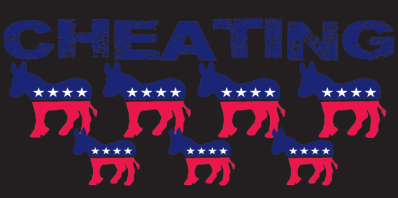 Cheating Donkeys' Bumper Sticker