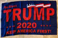 Trump Reelect 2020 3'x5' 100D Flag Rough Tex ®