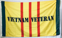 VIETNAM VETERAN US MILITARY SERVICE RIBBON FLAG 100D ROUGH TEX ® 3'X5'