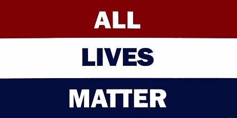 *TEMPORARLIY OUT OF STOCK* All Lives Matter 3'X5' Flag Rough Tex® 100D