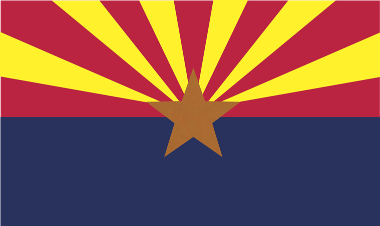 Arizona Flag 3x5ft 100D