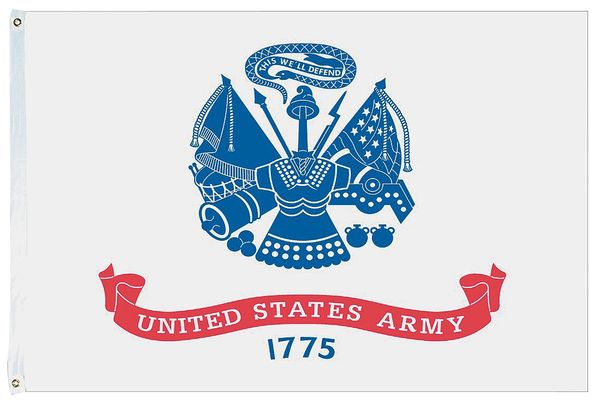 US Army U.S. Military 3'x5' 150D Flag Rough Tex ®Double Sided Expertly Printed