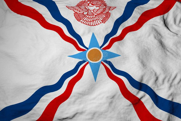 Flag Of The Assyrians 3'X5' Flag ROUGH TEX® 100D