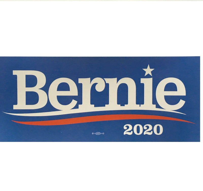 Bernie Sanders Official Democratic Party Presidential Banner Blue Single Sided Flag 3'x5' Rough Tex® 68D