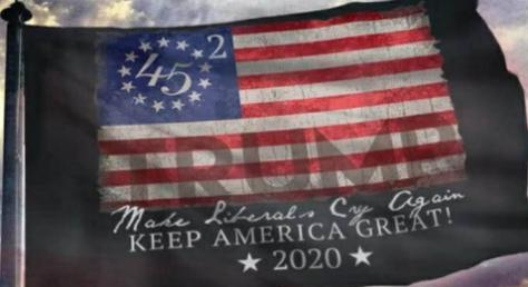 Betsy Ross (45 Trump) 3'X5' Flag ROUGH TEX® 100D