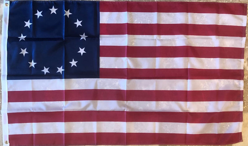 "Betsy Ross 28""X40"" Flag Rough Tex® 100D"