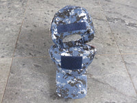 Blue Navy Camo ACU Operators Style Embroidered Cap
