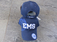 EMS Blue Embroidered Theme Cap
