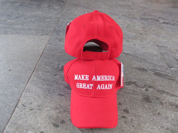 MAGA Red Trump Style Embroidered Cap