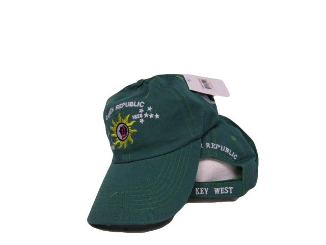 12 CONCH REPUBLIC KEY WEST CAPS GREEN