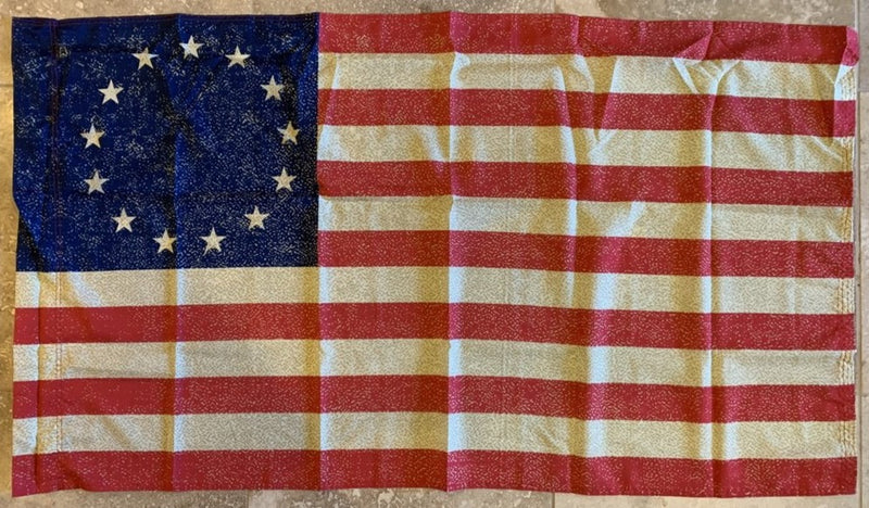Vintage Betsy Ross Flag With Sleeve 2'X3' 100D Rough Tex®