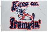 KEEP ON TRUMPIN' FLAG 100D ROUGH TEX ® 3'X5'